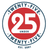 twenty five under twenty five logo